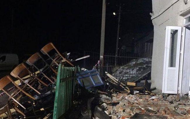 В Тернопільській області від вибуху в клубі постраждали вісім підлітків