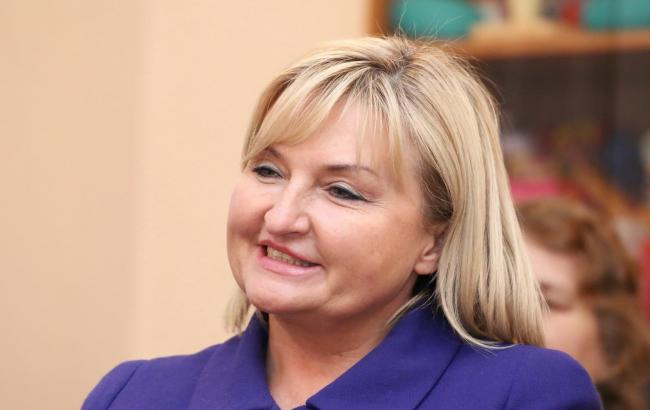 Фото: представитель президента в Верховной Раде Ирина Луценко