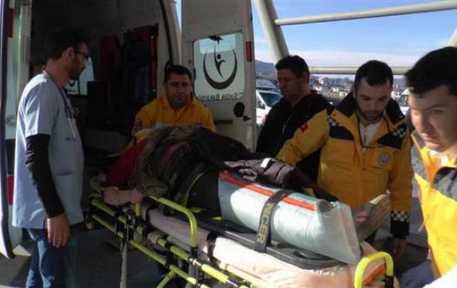 Фото: жертва крушения воздушного шара в Турции