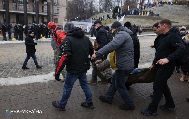 Протест ФОПов на Майдане: есть первые пострадавшие