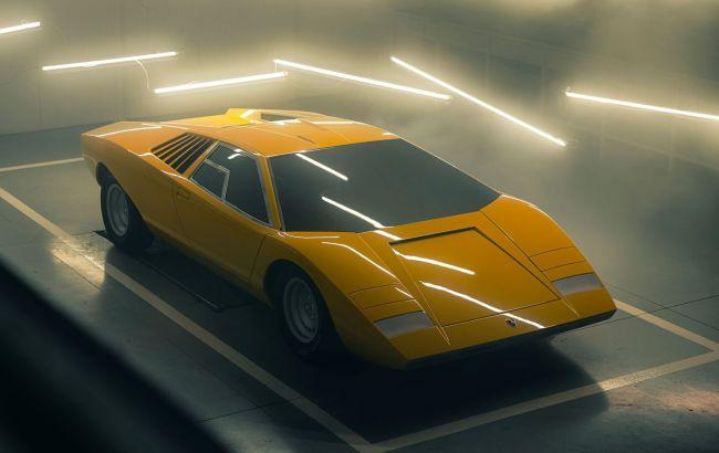 Прыжок на полвека назад: Lamborghini воссоздала самый первый экземпляр суперкара Countach