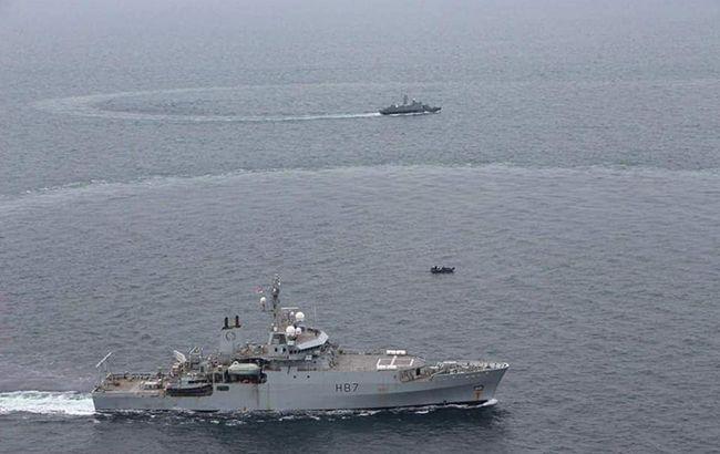 Україна і Британія провели навчання у Чорному морі