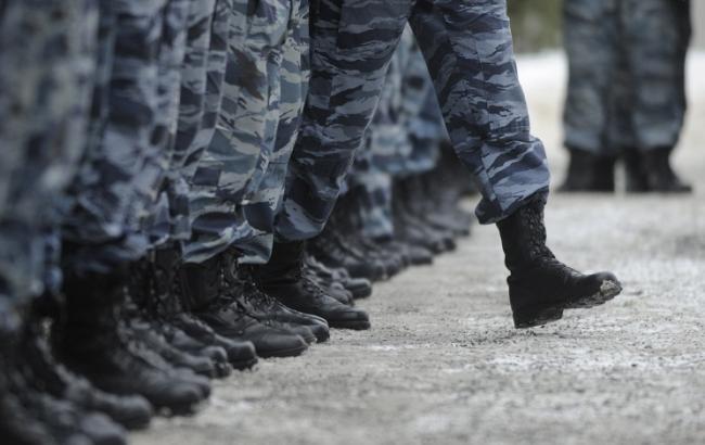 Фото: на Донбасс переброшено подразделение Росгвардии