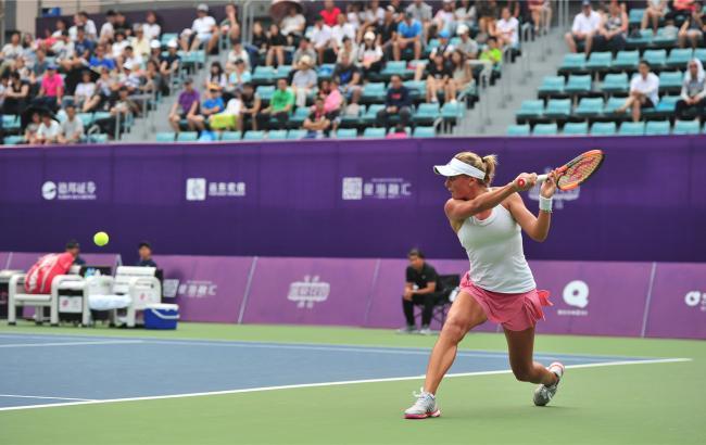 Украинка Козлова выиграла турнир вКитайской республике, переиграв вфинале россиянку