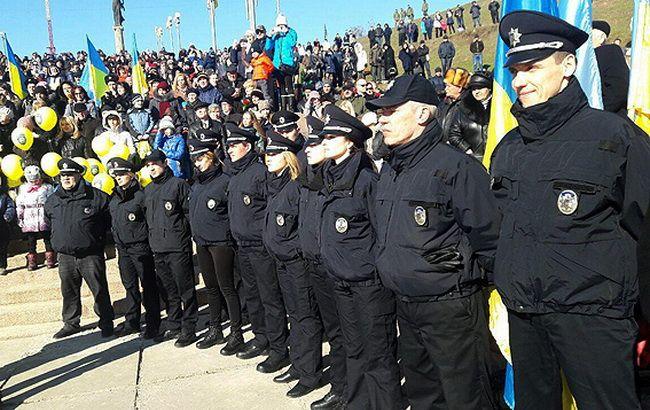 Фото: патрульные в Херсоне