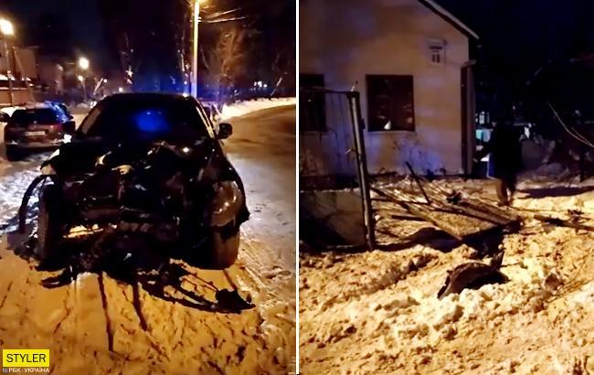Три ДТП за 20 минут: во Львове полиция с трудом поймала нарушителя