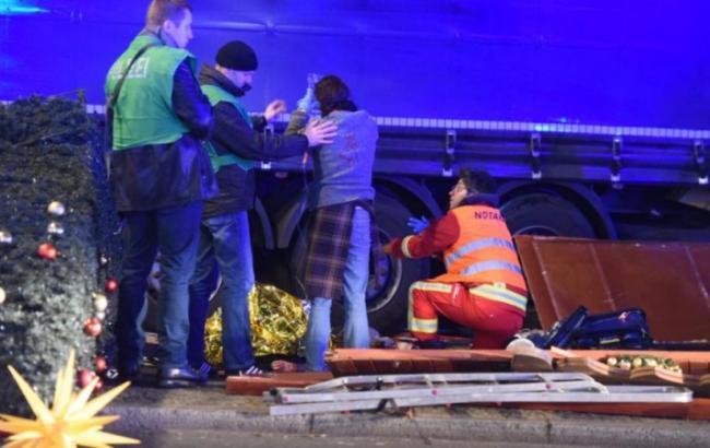 Число жертв впроцессе теракта вБерлине возросло
