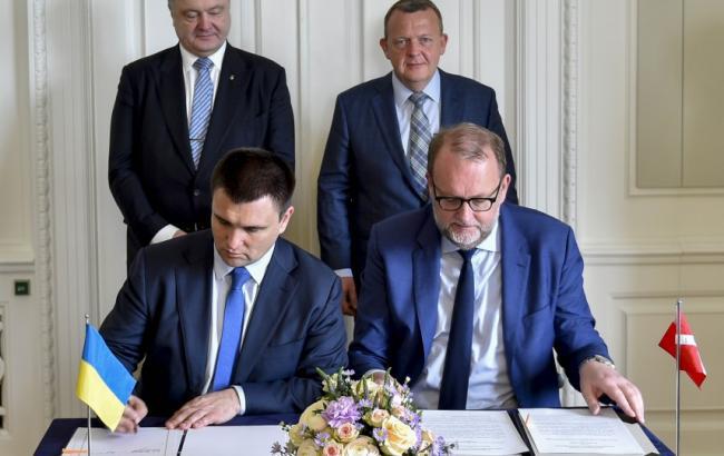 Фото: Украина и Дания будут сотрудничать