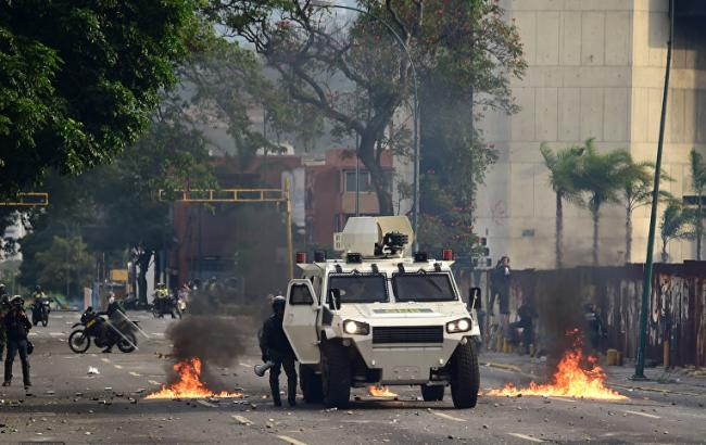 Фото: протест у Венесуелі