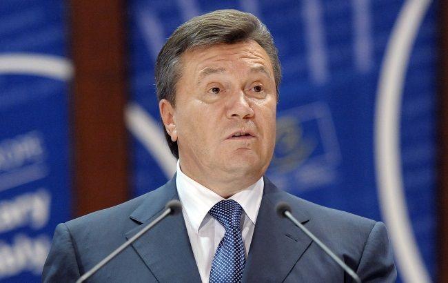 Янукович подав позов до ЄСПЛ щодо України