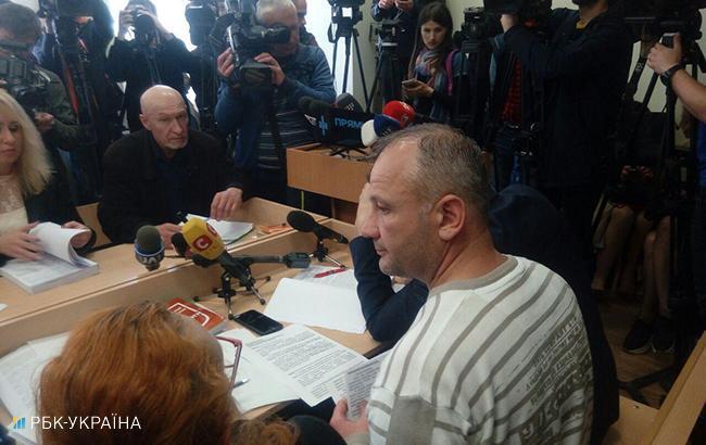 Фото: суд над Бубенчиком (РБК-Украина)