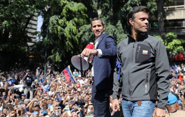 Гуайдо закликав не припиняти акції протесту проти режиму Мадуро
