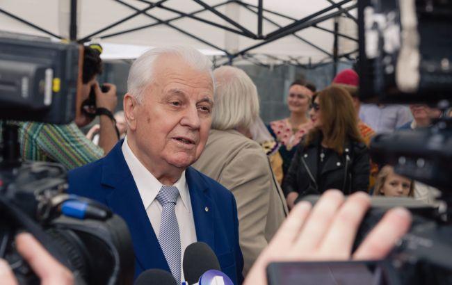 Кравчук о минском формате: Украина хочет дополнить его более жесткими действиями