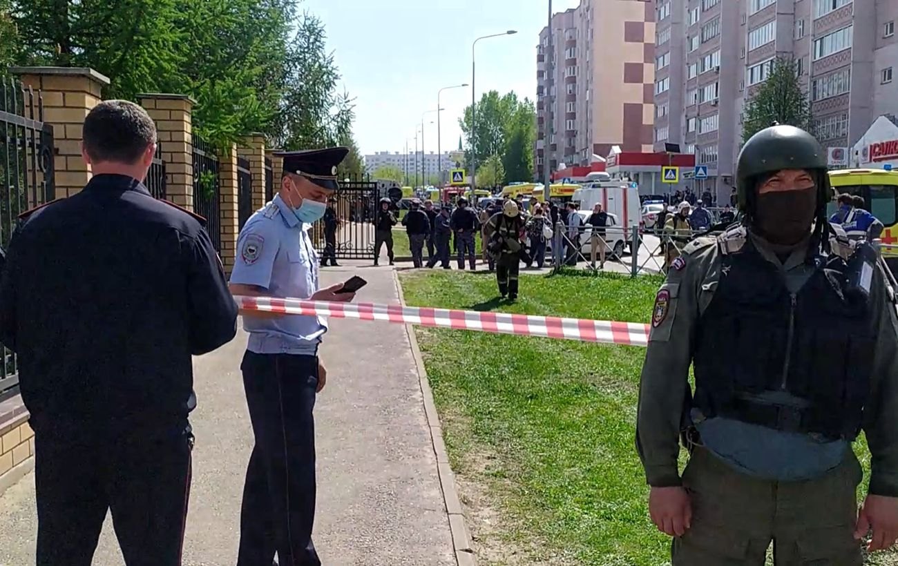 Стрельбу в школе в Казани официально назвали терактом