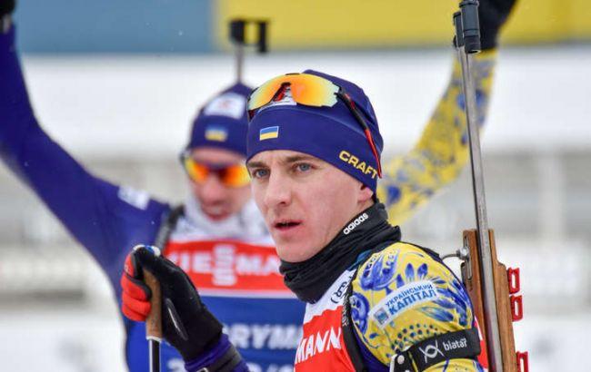 Українець Підручний став чемпіоном світу з біатлону