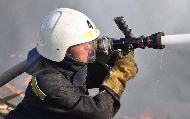 У Києві на території Олександрівської лікарні сталася пожежа