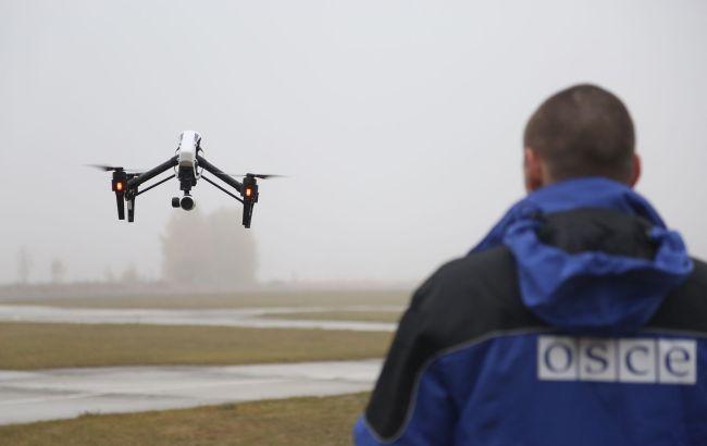 ОБСЕ приостановила полеты дронов на Донбассе. Их глушат в украинском тылу