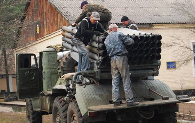 """В """"Укроборонпромі"""" за останній тиждень відновили 27 одиниць техніки для АТО"""
