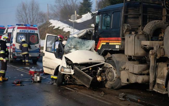 В Польше в ДТП погибло 2 украинца, 4 ранены