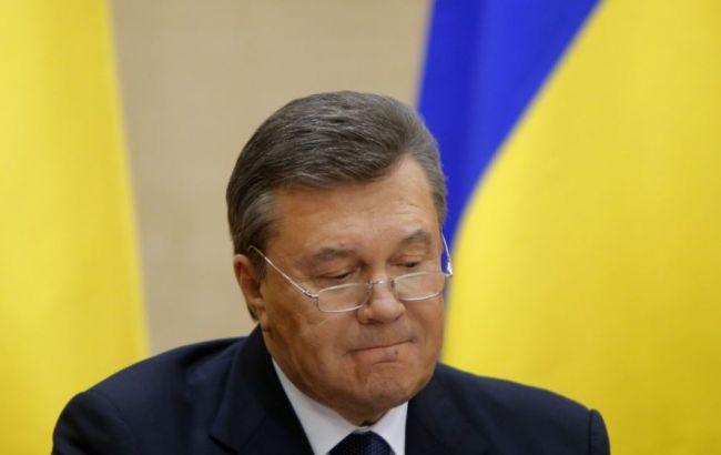 Фото: РФ официально не сообщала о статусе Виктора Януковича в стране