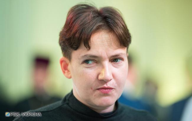 Савченко завтра намерена дать брифинг в Киеве