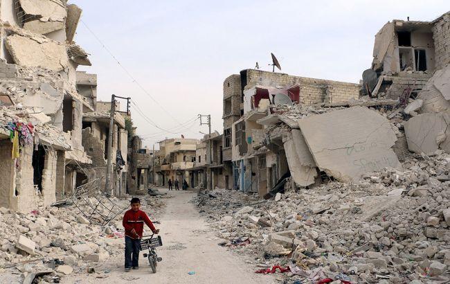 Фоп: війна в Сирії