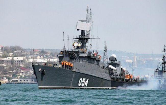 В Азовське море увійшов протичовновий корабель флоту РФ