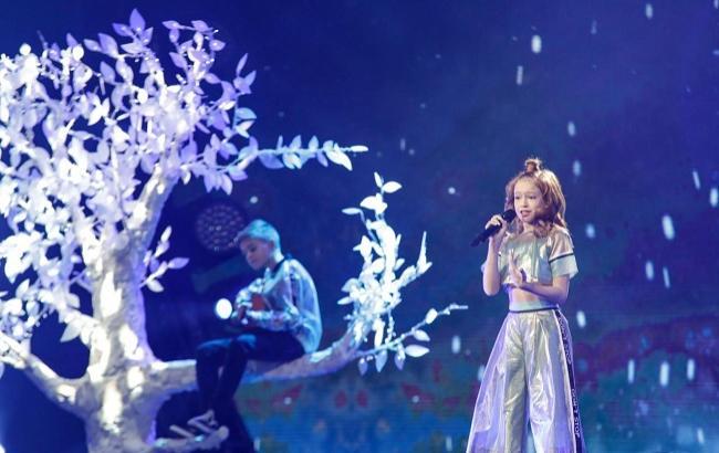 Фото: Украина на детском Евровидении 2017 (junioreurovision.tv)