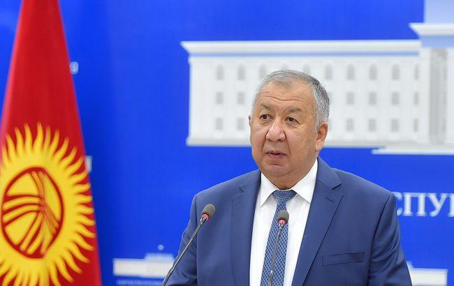 Премьер Киргизии ушел в отставку, назначен новый глава правительства