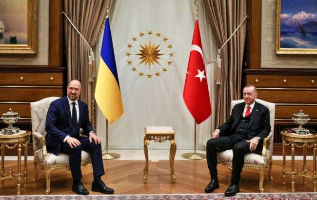 Шмигаль зустрівся з президентом Туреччини: що обговорили