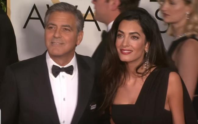 Джордж Клуні вперше став батьком