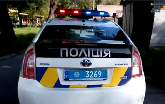 В Запорожье умерла женщина, которую переехали патрульные полицейские (Кадр из видео youtube.com/Громадське ТБ Запоріжжя)