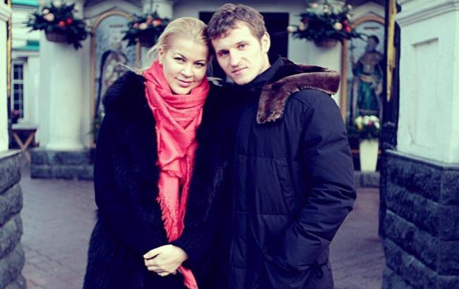 Фото: Татьяна Алиева с бывшим мужем (facebook.com/tatyana.alieva.5)