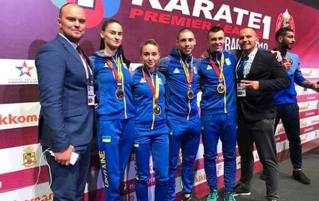 Украинские каратисты выиграли три золота на турнире в Марокко
