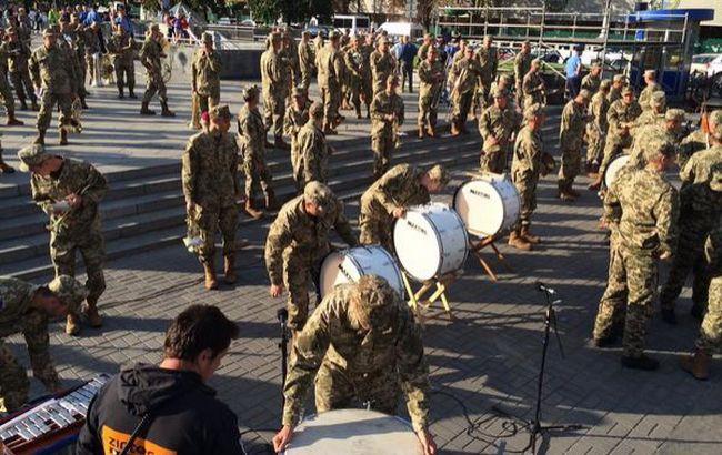 Фото: репетиція параду в Києві