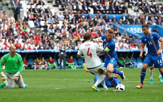 Исландия - Венгрия: команды сыграли в результативную ничью