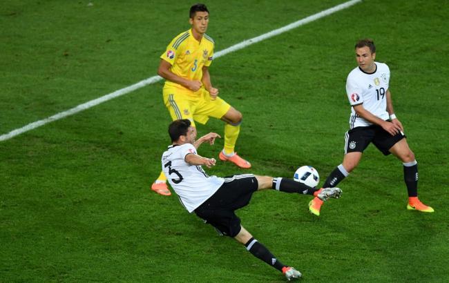 Германия - Украина: Украинцы обидно проигрывают первый матч