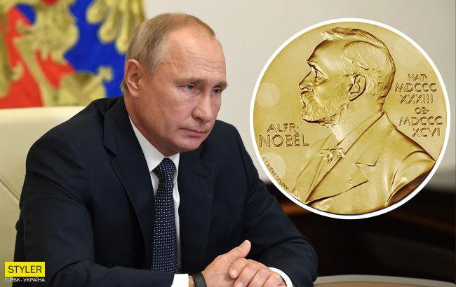 Путіна номінували на Нобелівську премію
