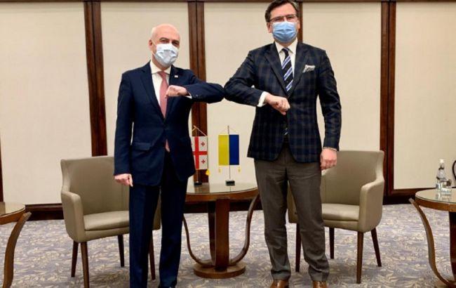Україна та Грузія обговорили поглиблення взаємодії ВМС із чорноморськими державами НАТО