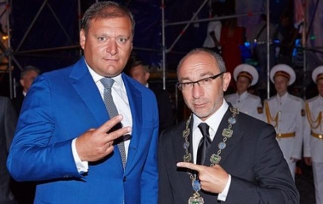 Фото: Михаил Добкин и Геннадий Кернес (segodnya.ua)