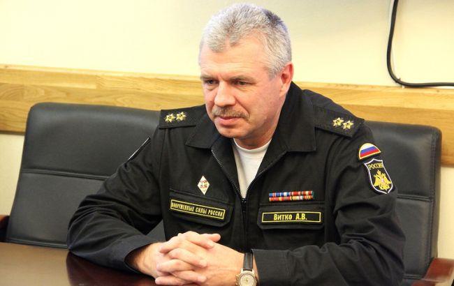 Военная прокуратура вручила подозрение командующему ЧФ России Витко