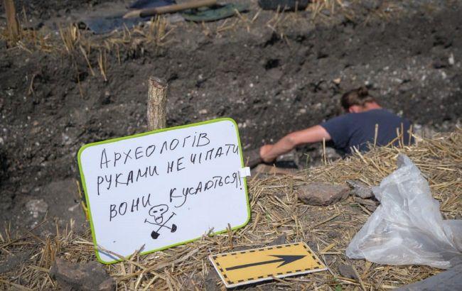 На Буковине археологи исследуют уникальное поселение эпохи поздней античности (фото)