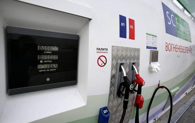 Цены на АЗС в Киеве за выходные немного выросли