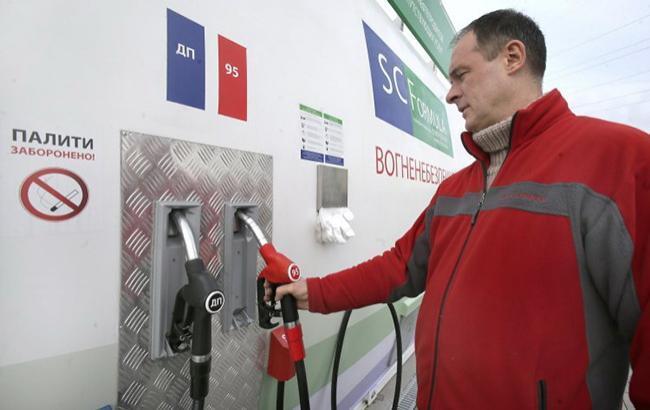 Ціни на АЗС в Києві трохи знизилися