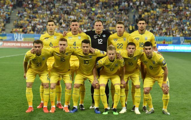 Збірна України увійшла в топ-25 рейтингу ФІФА