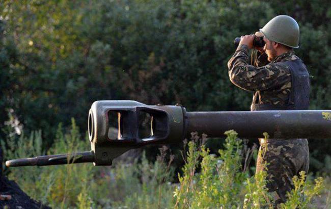 Фото: украинский артиллерист (censor.net.ua)