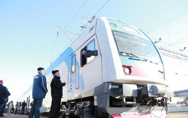 Фото: новий електропоїзд Skoda