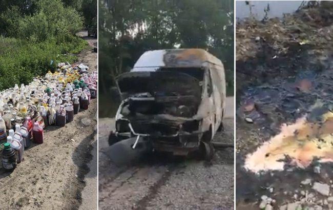 Утечка химикатов в Рось: откуда украли яд и какие последствия аварии