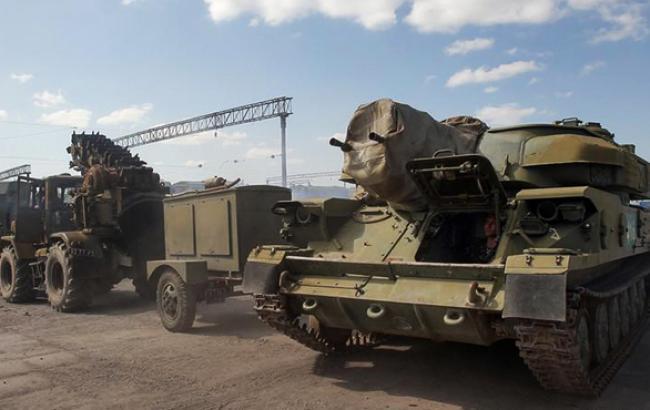 Россия продолжает концентрацию войск в Крыму, - СНБО