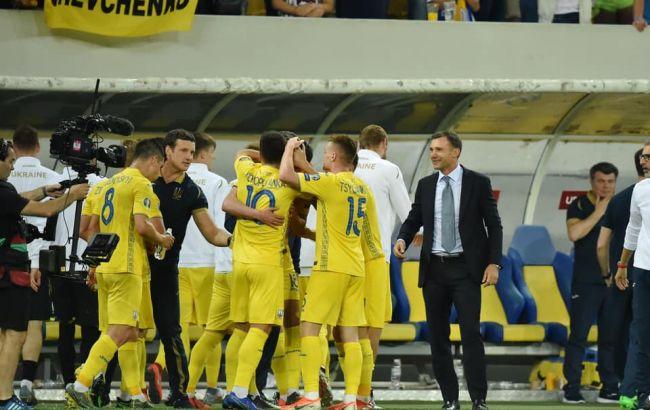 Збірна України завдяки перемозі над Португалією вийшла на Євро-2020